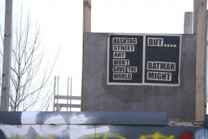 batman saves hackney wick