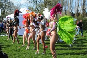 barzilian dancers in west london
