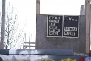 batman saves hackney wick